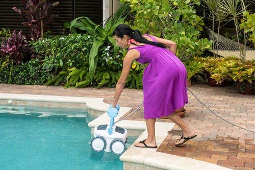 Aquabot Pool Cleaner Review - ABREEZ4WD Breeze 4WD Weight