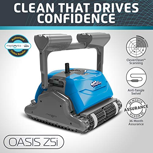 DOLPHIN Oasis Z5i Robotic Pool Cleaner - Best Robotic Pool Cleaners