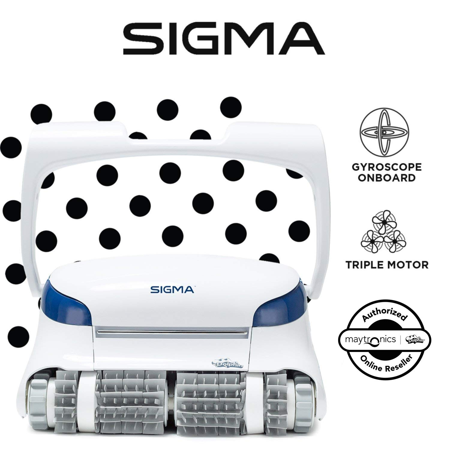 Dolphin Sigma Robotic Pool Cleaner - Best Robotic Pool Cleaners