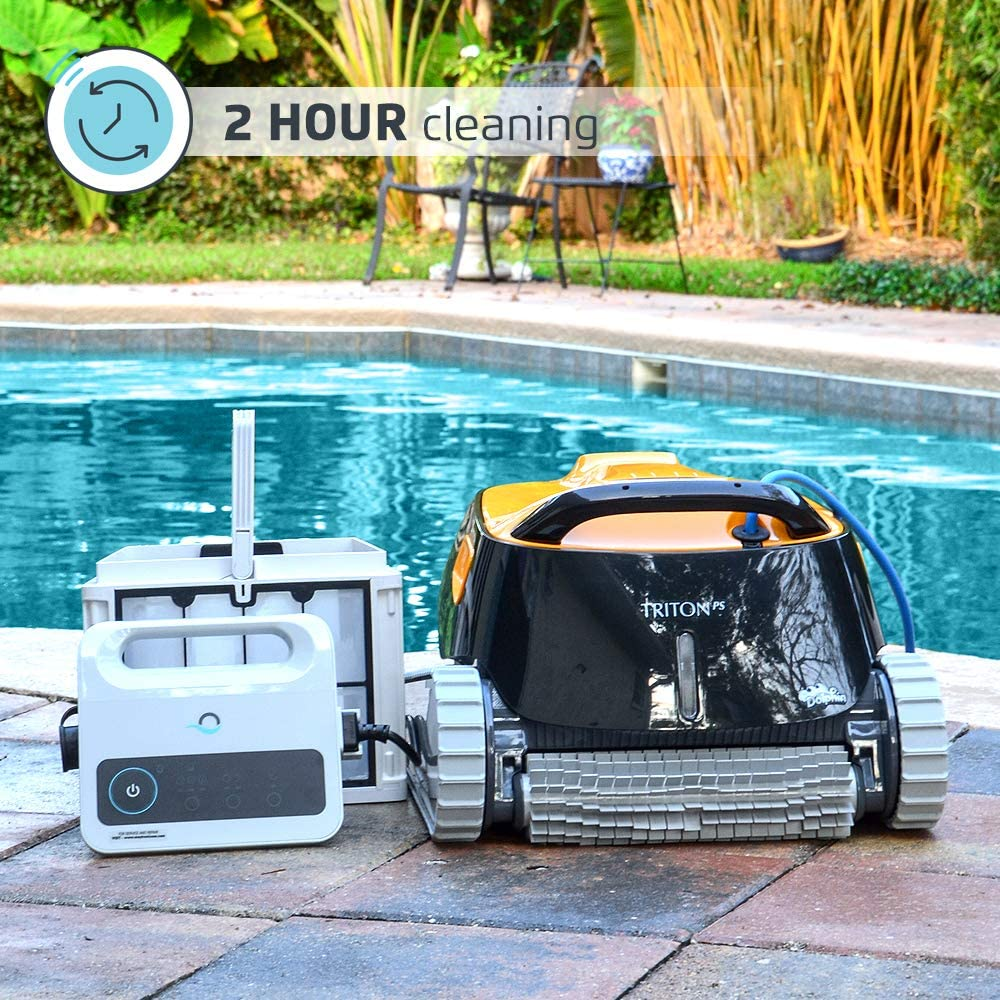 Dolphin Tritron PS Automatic Robotic Pool Cleaner
